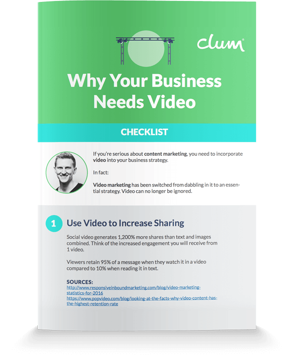 Why your Business Needs Video Cover